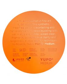 "Yupo White/Medium 200gsm/74lb Cover Circles 8"" (10 sheets/pack)"