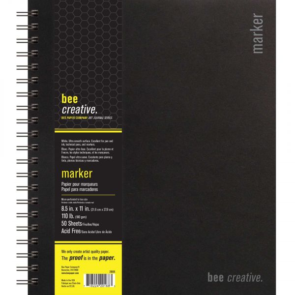 Bee Creative Marker Spiral Bound Book