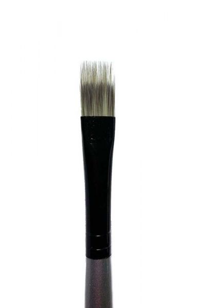 3//4 in Dynasty Stroke Black Silver Synthetic Hair Long Handle Paint Brush
