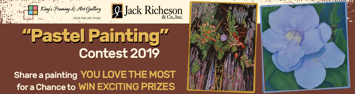 "King's Framing & Art Gallery & Jack Richeson ""Pastel Painting"" Contest 2019"