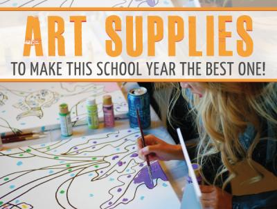 Back-to-School Art Supplies To Make This School Year The Best One!