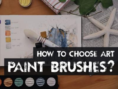 Guide to buy art paint brushes: Understanding the types of brush hair