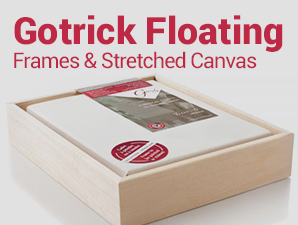 Gotrick - Deco Collection Floating Frames And Stretched Canvas