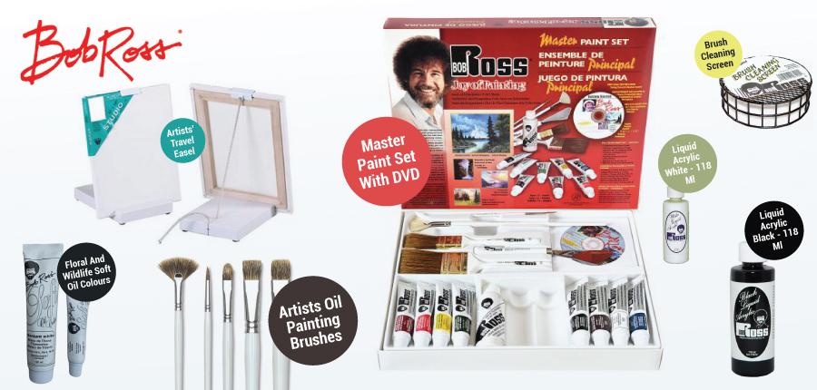 Bob Ross Art Supplies