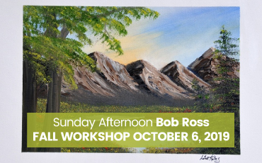 Bob Ross Oil Painting Workshop